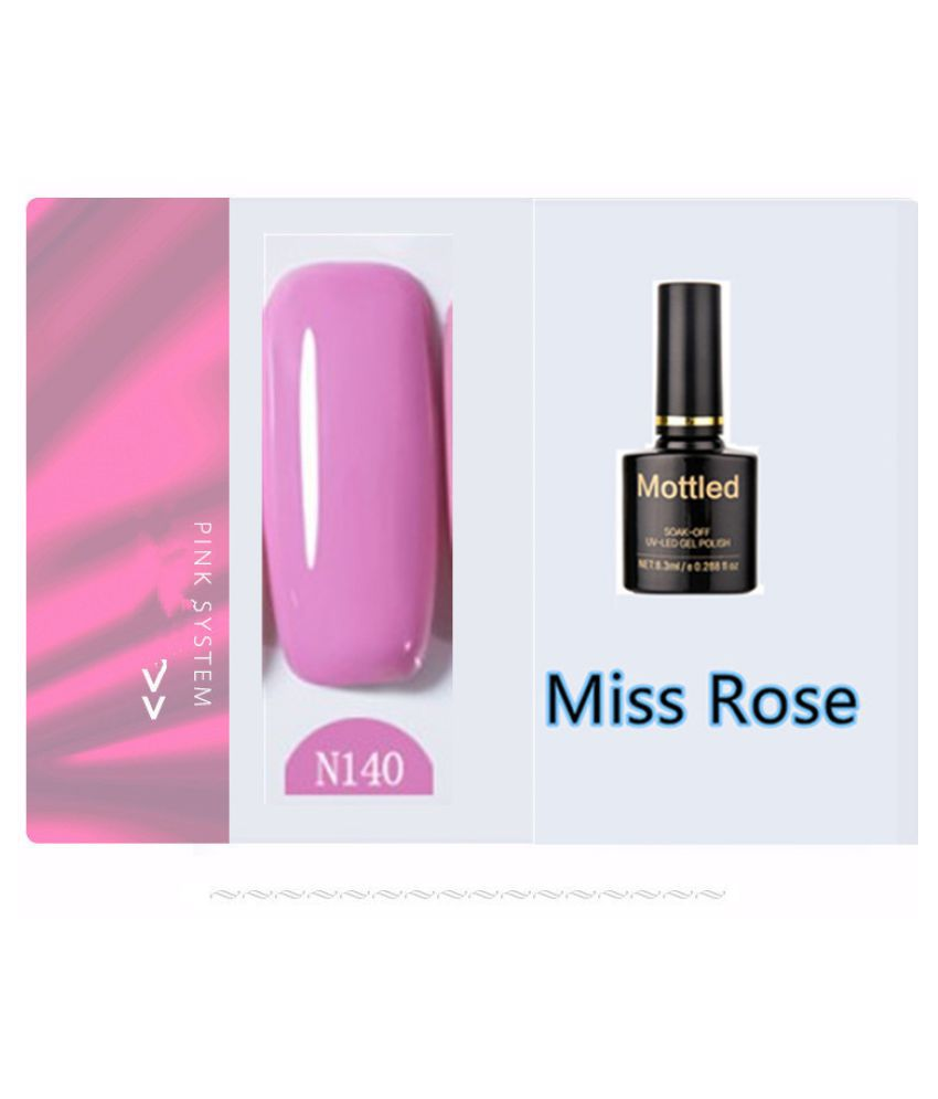 Miss Rose Nail Polish N140 As Picure Glossy 35g gm