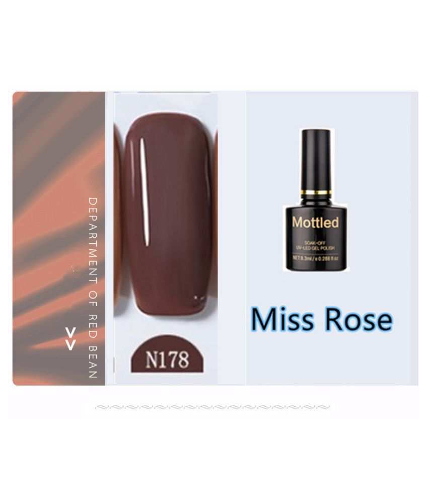 Miss Rose Nail Polish N178 As Picure Glossy 35g gm