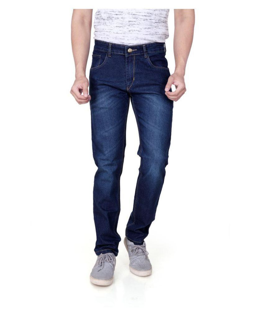 RAGZO Dark Blue Slim Jeans