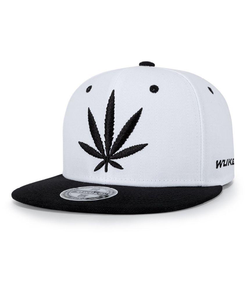 Kamalife Black Embroidered Polyester Hats
