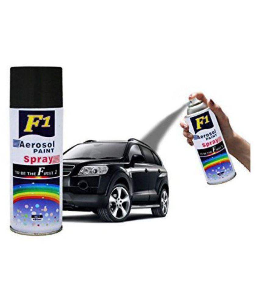Paint For Cars >> Spray Paint For All Cars And Bikes To Remove Scratches Black Color