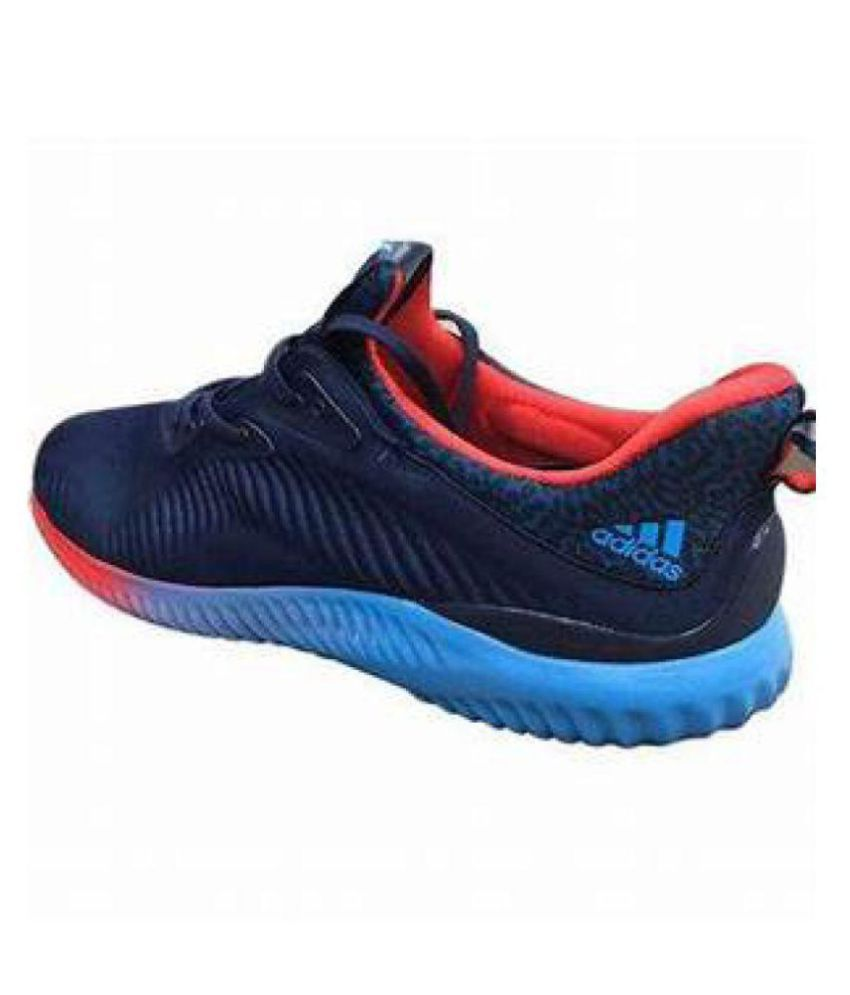 a90f9c036 Adidas alpha bounce blue red sports shoes Blue Running Shoes - Buy Adidas  alpha bounce blue red sports shoes Blue Running Shoes Online at Best Prices  in ...