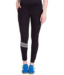 American-Elm Cotton Trackpants - Black