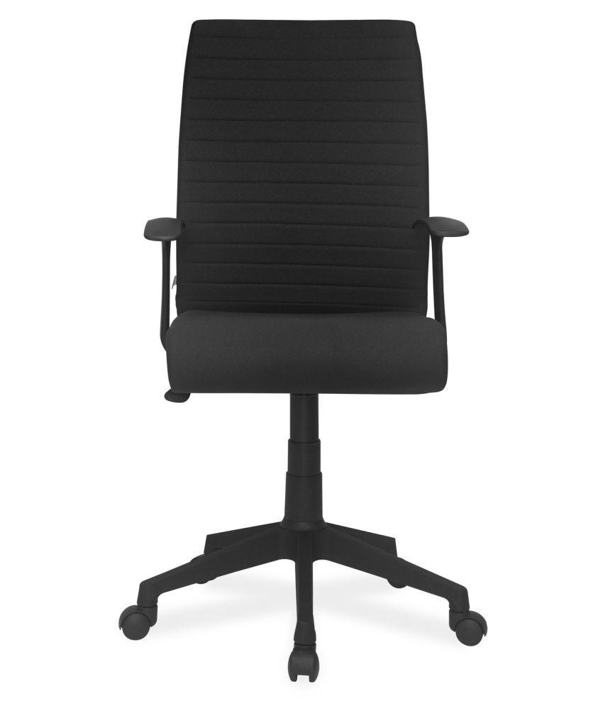3260ce3c0 Nilkamal Thames Medium-Back Office Chair (Black) - Buy Nilkamal ...