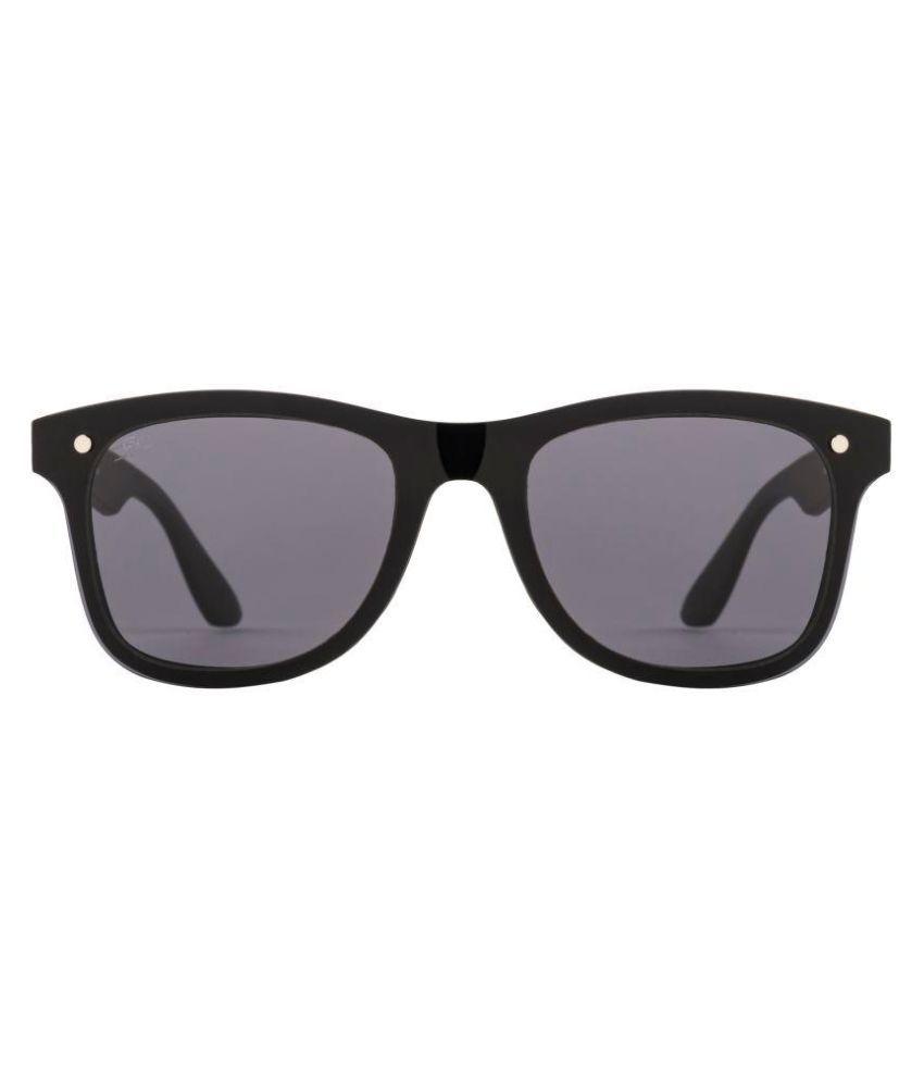 ROZIOR Black Wayfarer Sunglasses ( 7001C1 )