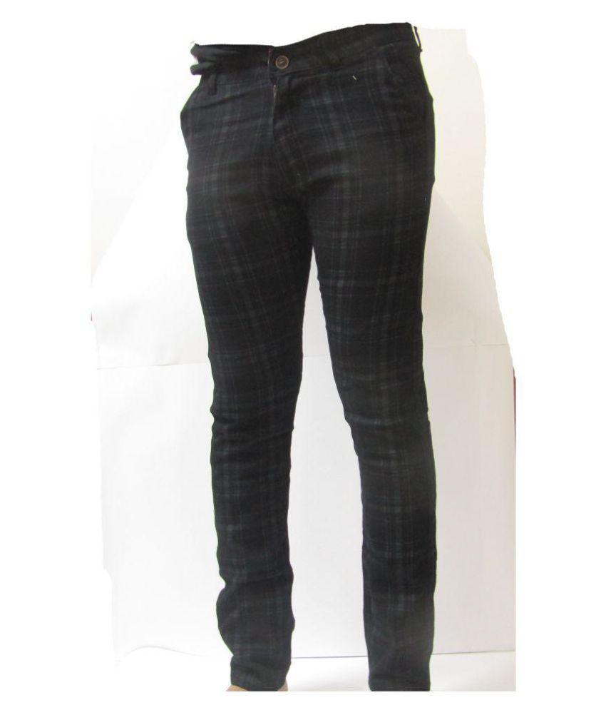 Armani Brown Slim -Fit Flat Trousers