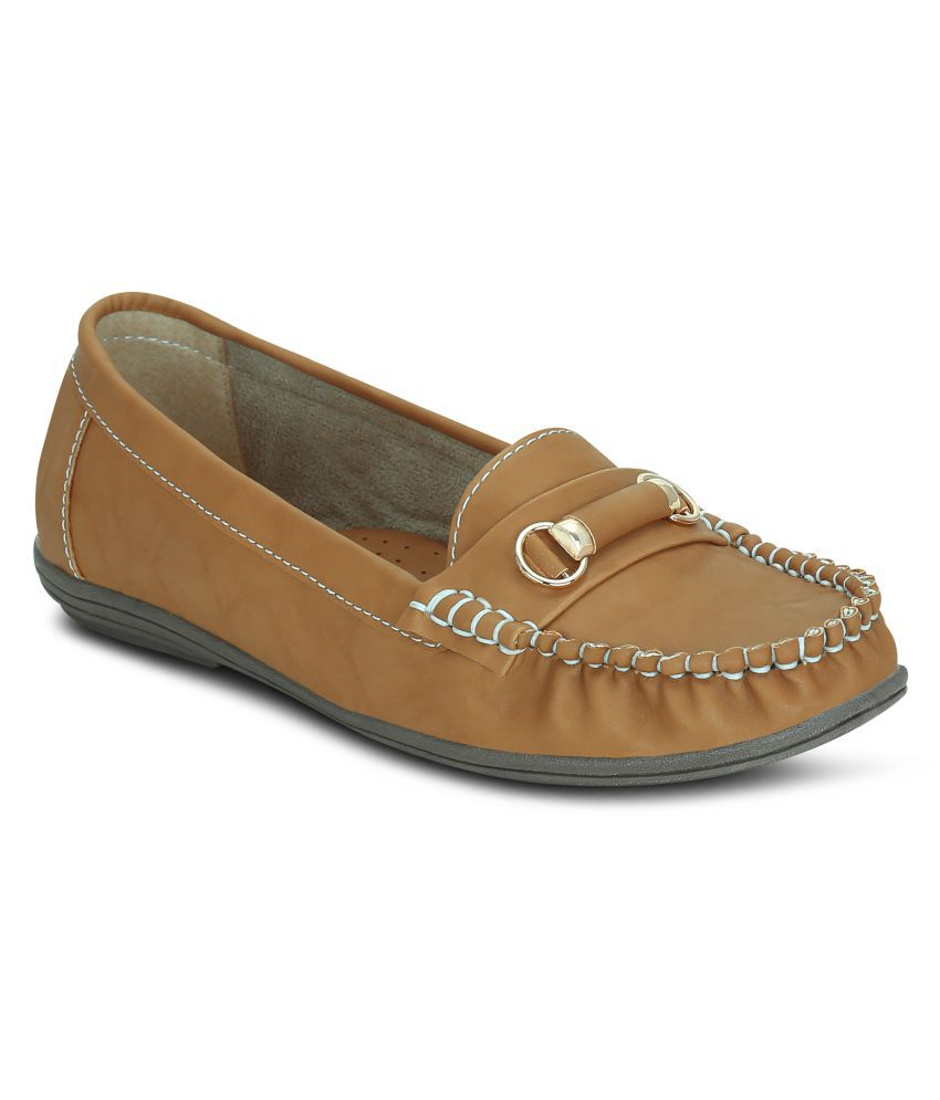 Get Glamr Tan Casual Shoes