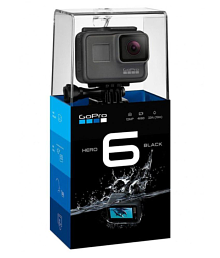 GoPro Hero 6 Sports and Action Camera (Black 12 MP)