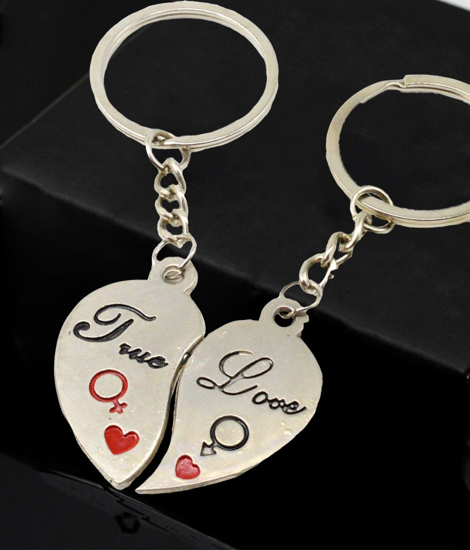 Faynci Ultimate Love Felling True Love Couple Valentine Day Gift Key Chain