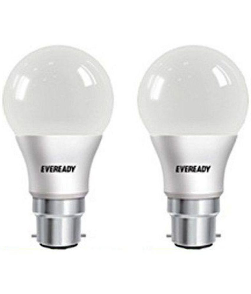 Eveready 9W LED Bulb Cool Day Light   Pack of 2