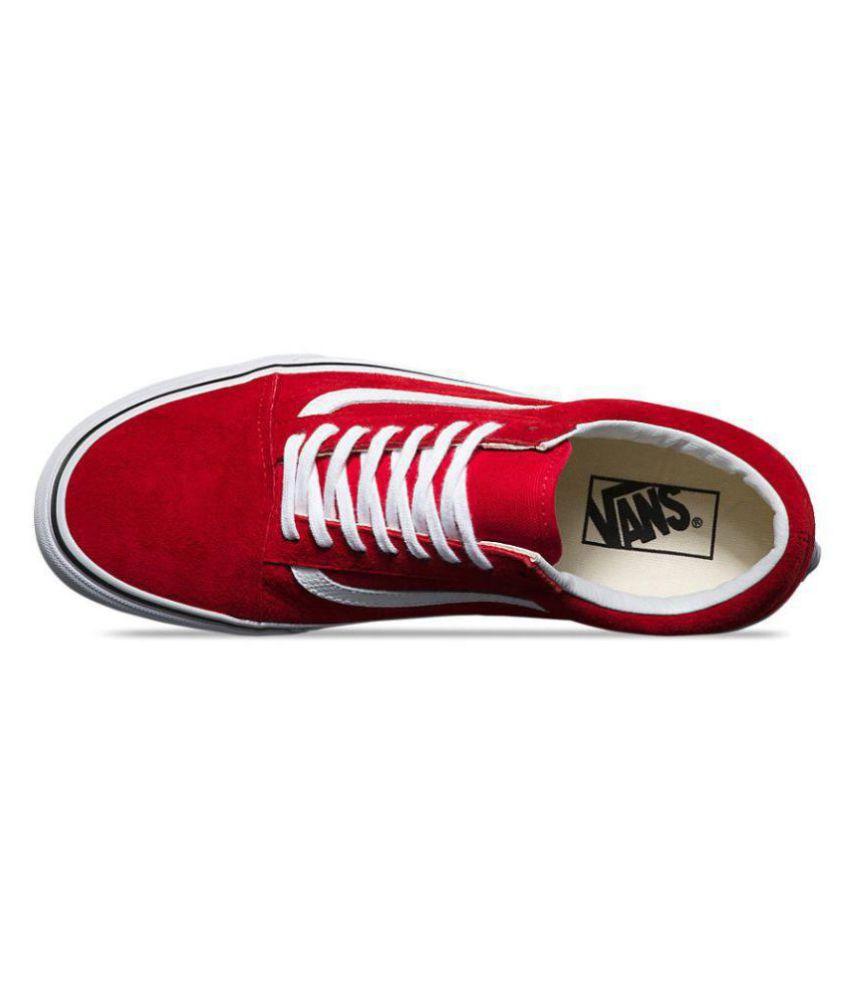 d8727ebae0 VANS Old Skool Red Casual Shoes - Buy VANS Old Skool Red Casual ...