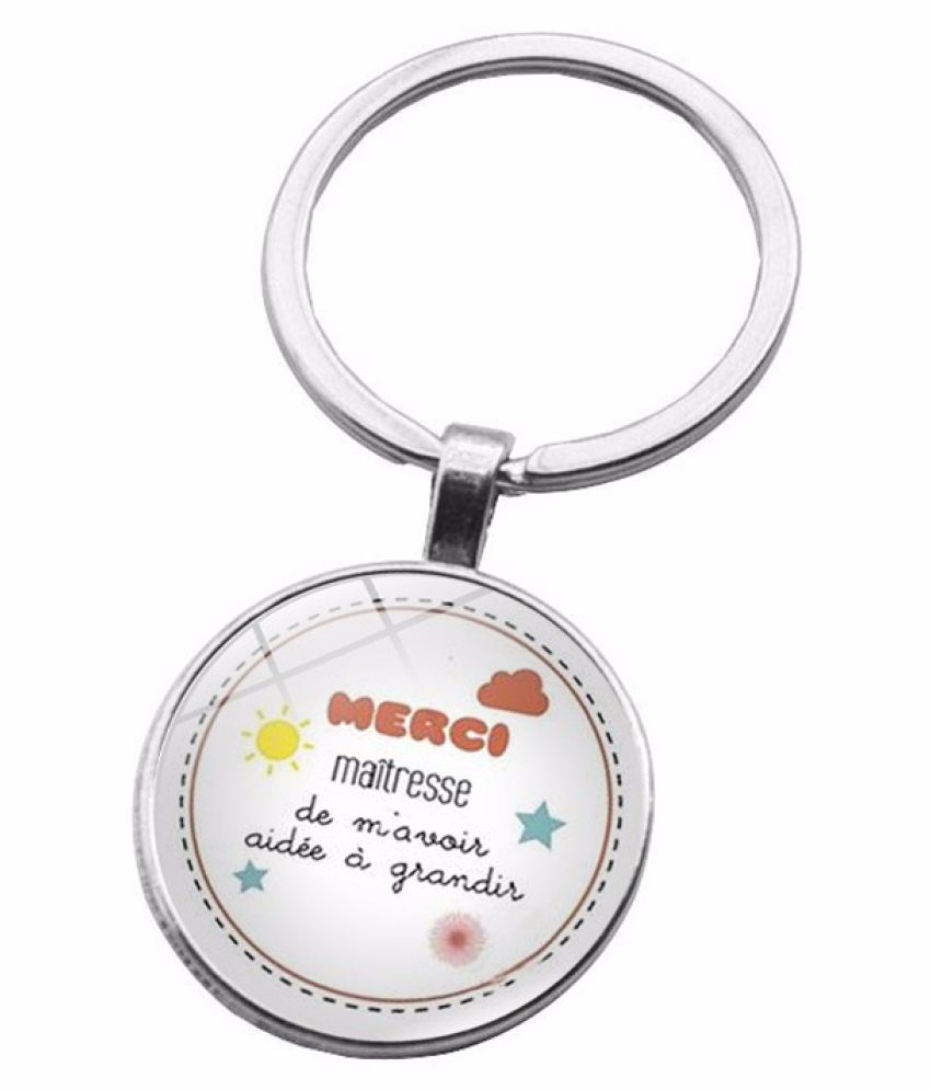 Kamalife Fashion Multi Color Zinc Alloy Bling Keychain Accessories Gift