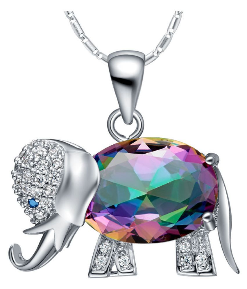 Kamalife Fashion Pendant Bling Iced Out Necklace Accessorise Gift