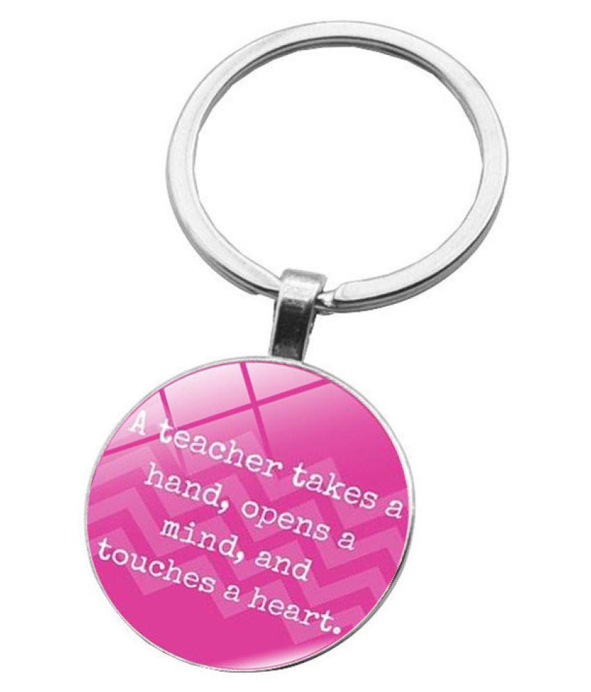 Kamalife Fashion Purple Zinc Alloy Bling Keychain Accessories Gift