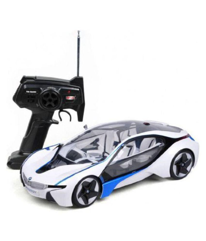 New Toy Vaibhavi Enterprise Bmw I8 Electric Chargeable 3d Remote