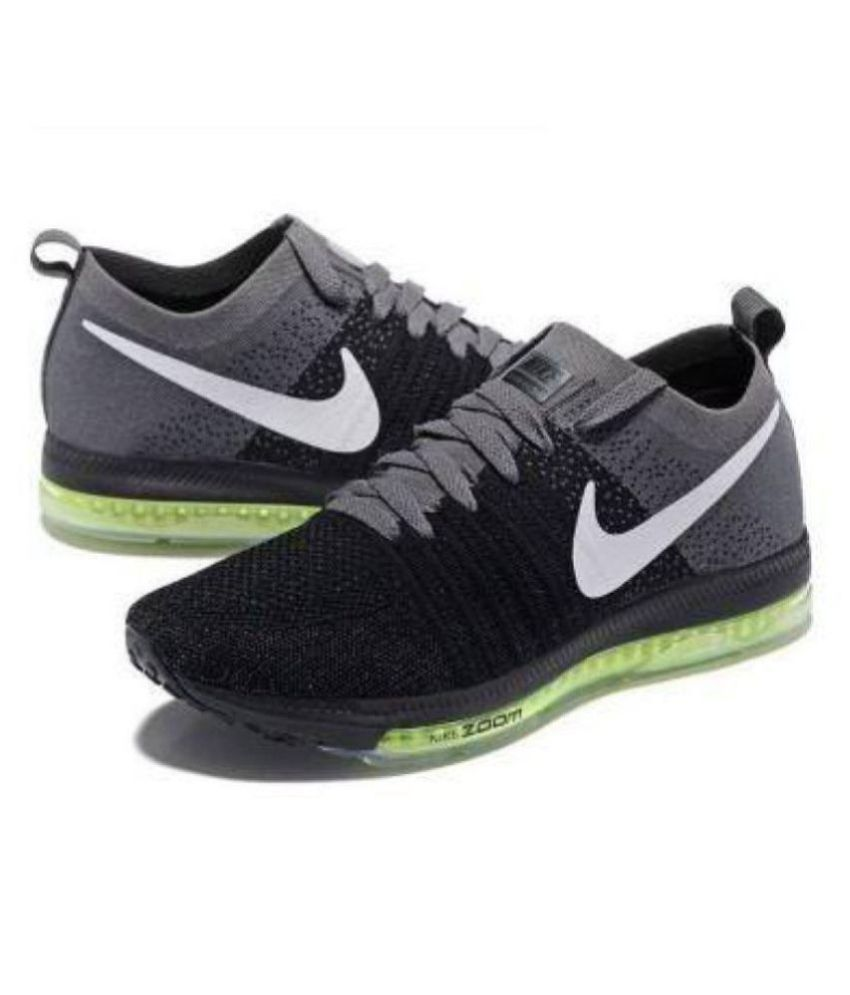 058544cc2c135 Nike Zoom All Out Black Running Shoes - Buy Nike Zoom All Out Black Running  Shoes Online at Best Prices in India on Snapdeal