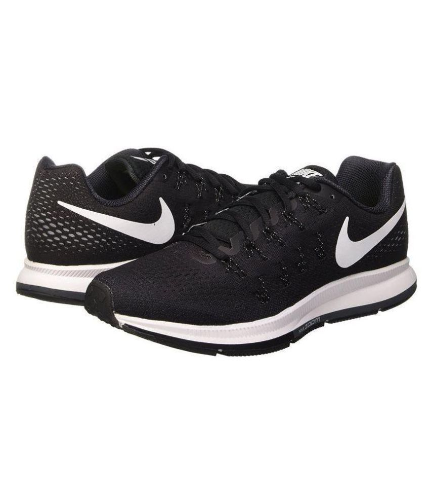 Nike Zoom Pegasus 33 Black Running Shoes - Buy Nike Zoom Pegasus 33 ... a4d457023f