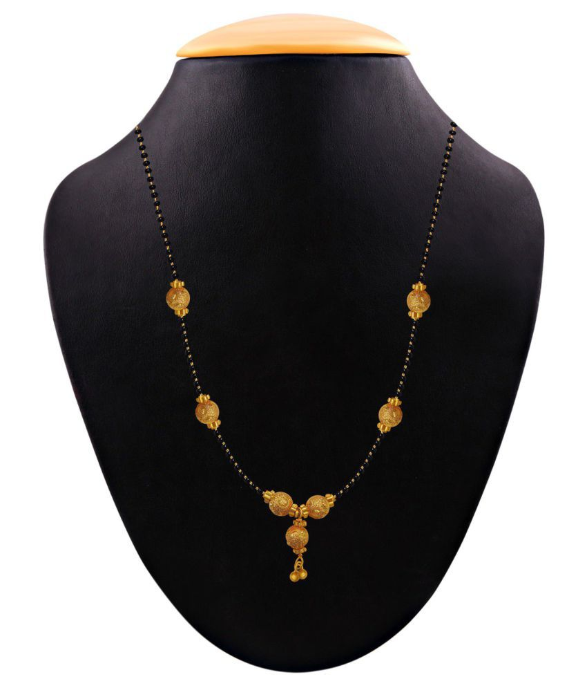 e9850ec56a Aabhu Gold Plated Traditional Mangalsutra Tanmaniya kanthi Necklace For  Women  Buy Aabhu Gold Plated Traditional Mangalsutra Tanmaniya kanthi  Necklace For ...