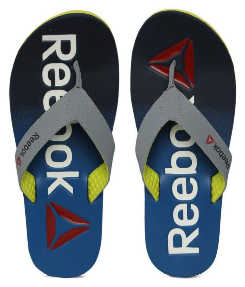 8f1f29a2e3bc Reebok Gray Daily Slippers Price in India- Buy Reebok Gray Daily ...