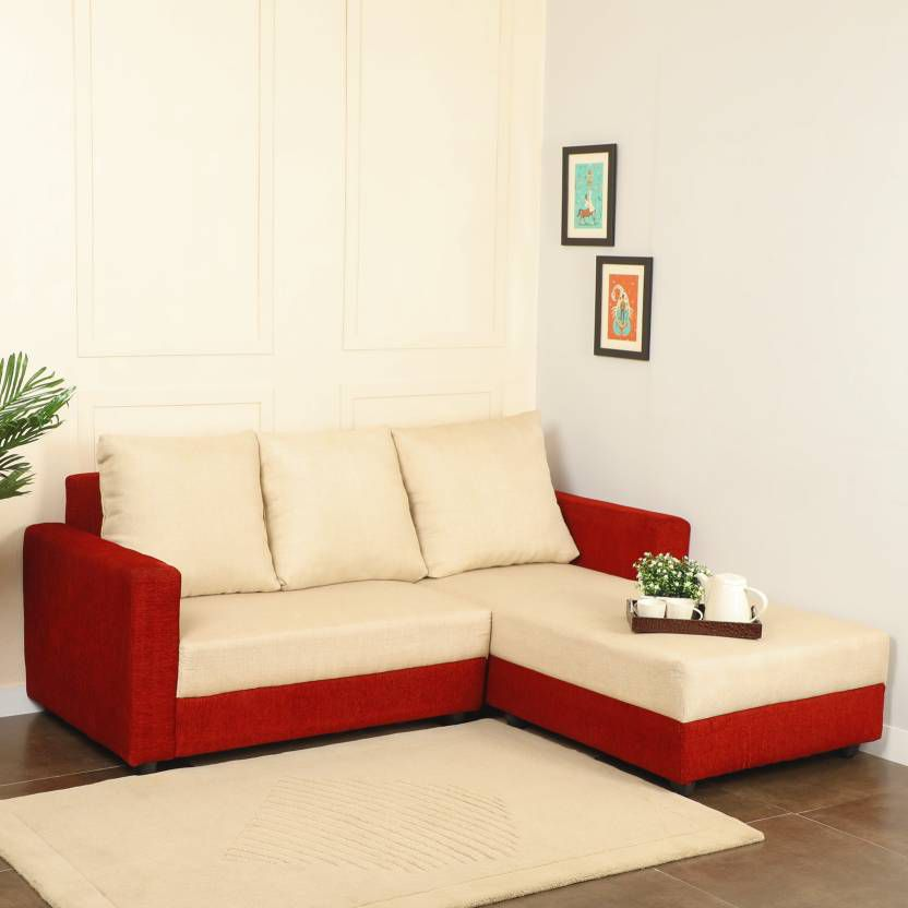 Buying A Couch Online: Westido Emgey Fabric 5 Seater Sofa Set