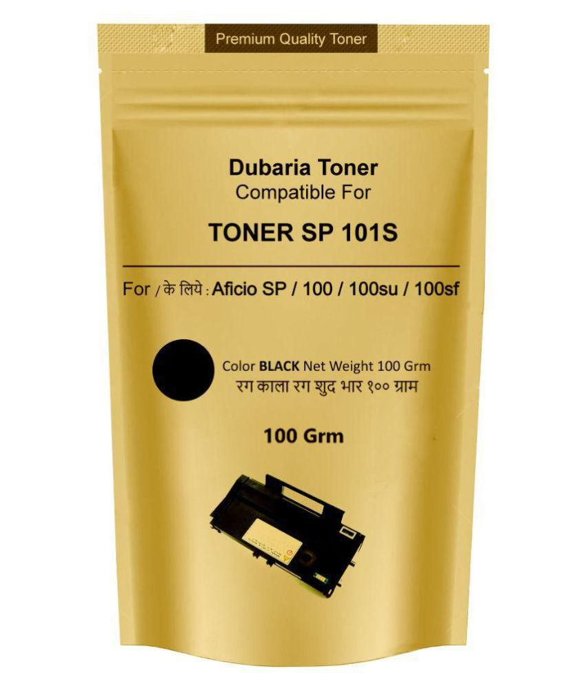 Dubaria Toner Powder Pouch Compatible For Use In Ricoh SP100 / SP111 /  SP111SU / SP200 / SP210 / SP212SNw / SP300 / SP 300DN / SP310DN / SP  325Sfnw /