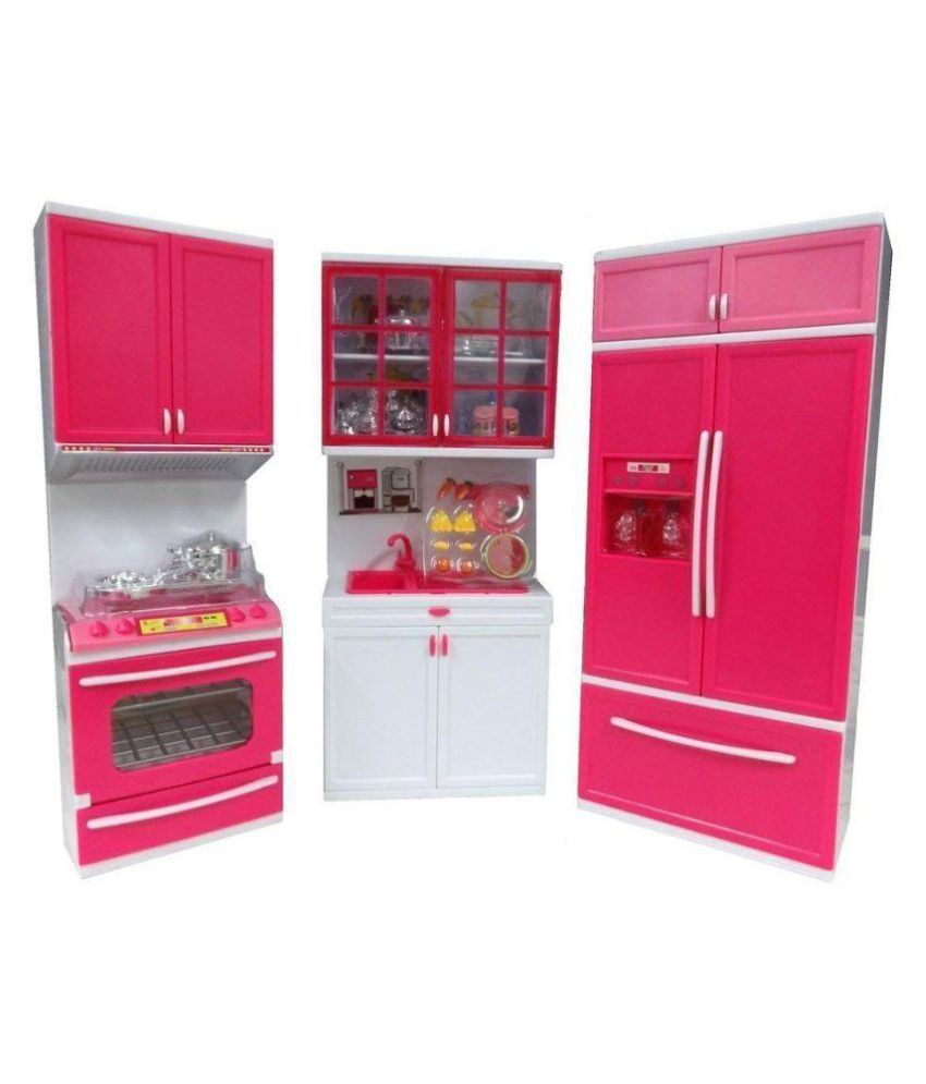 j k international modern plastic kitchen play set toy with rh snapdeal com