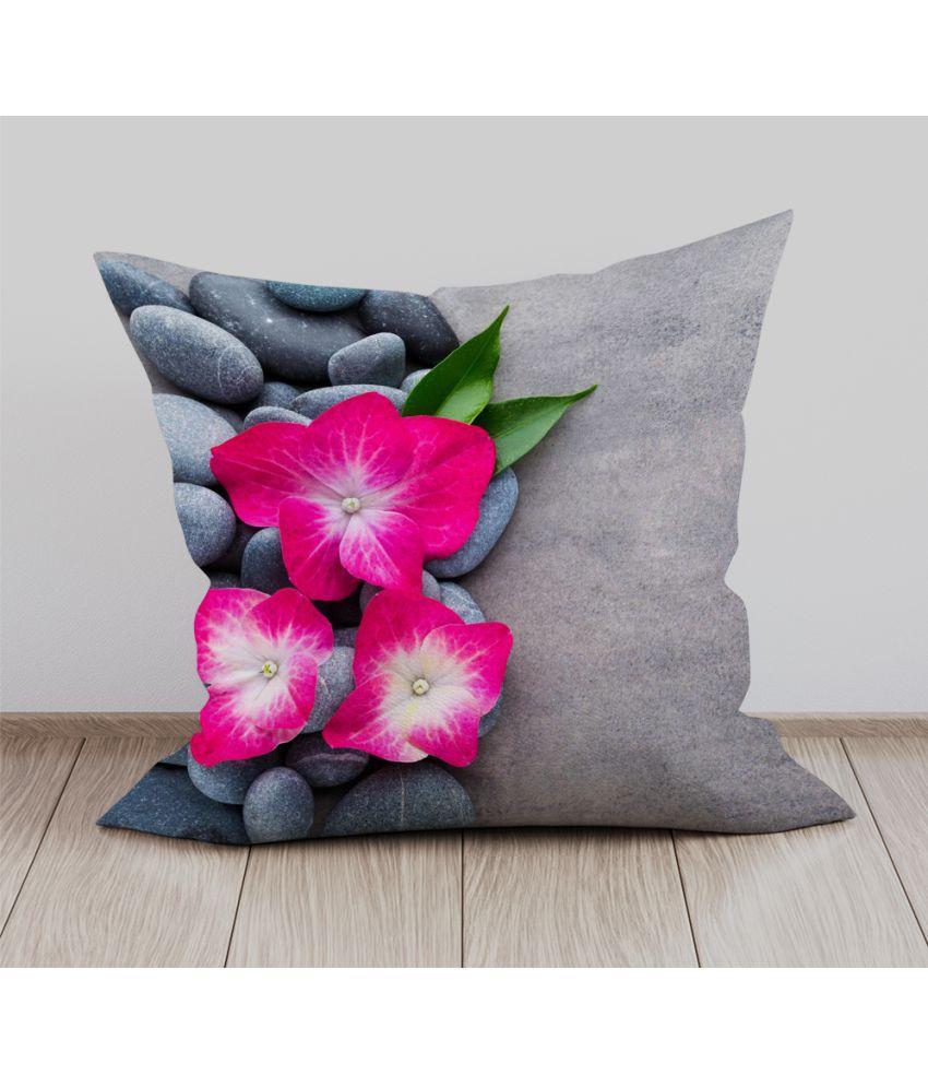 Mukesh Handicrafts Single Velvet Cushion Covers 40X40 cm (16X16)