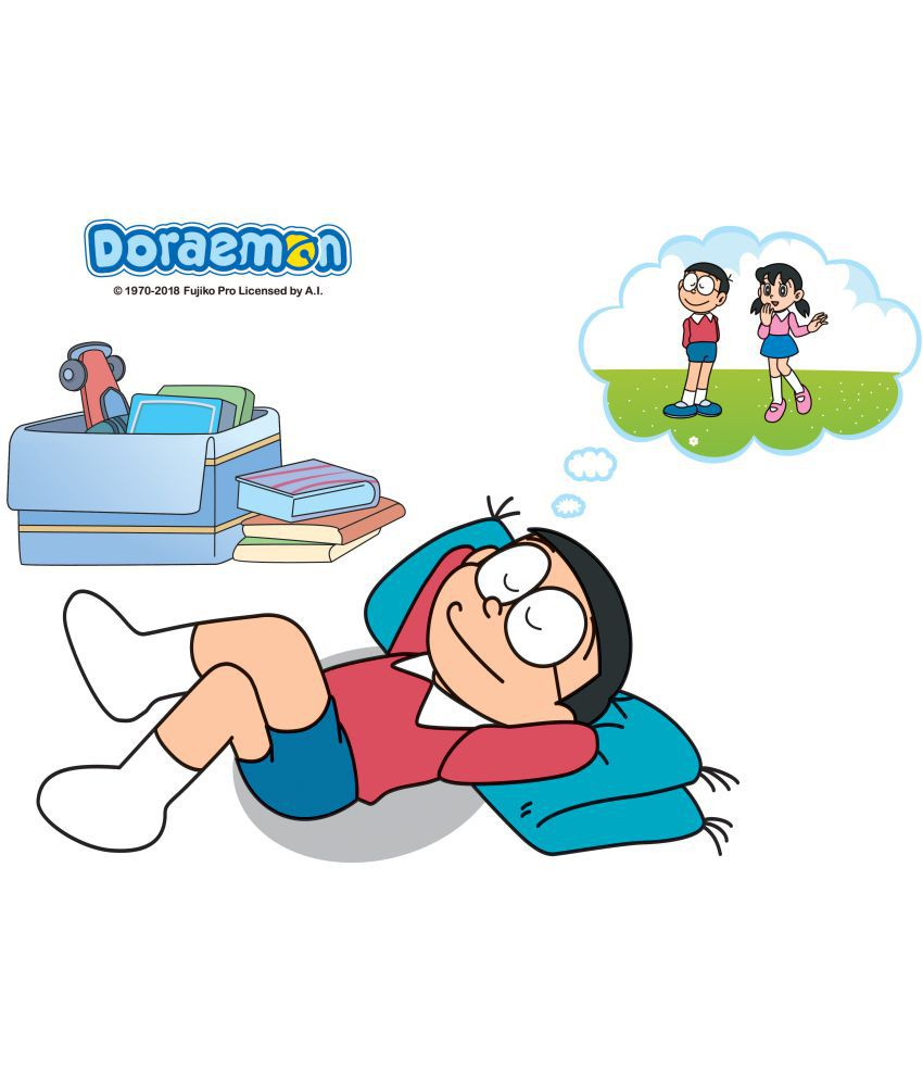 Asian Paints Doraemon Nobita dreams of Shizukad Cartoon Characters