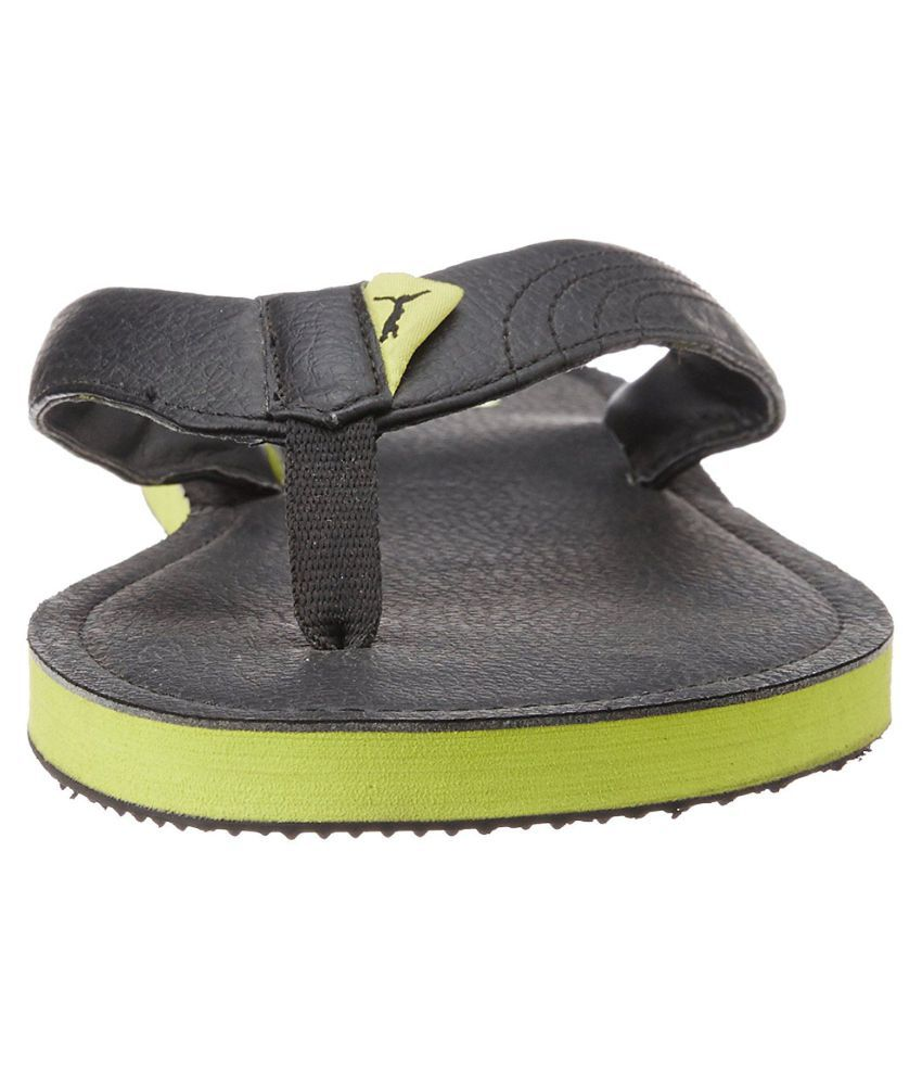 6d3cc43cd Puma PUMA Ketava III DP Green Daily Slippers Price in India- Buy ...