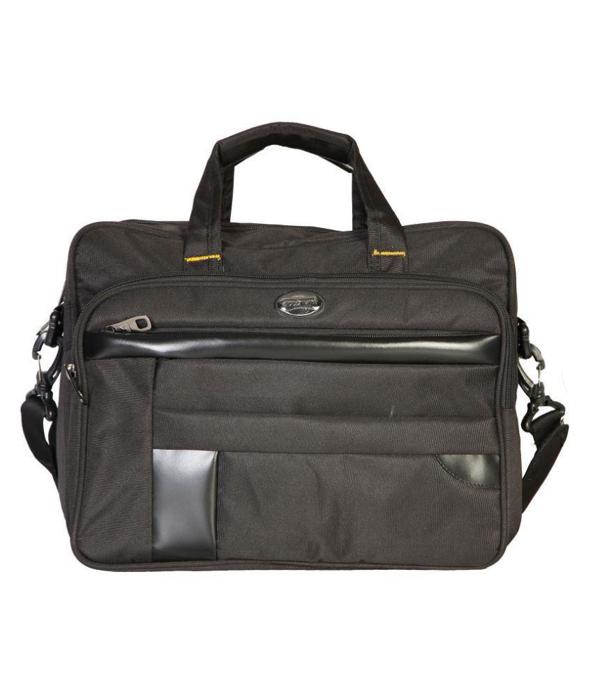 Goodwin Black Polyester Office Bag