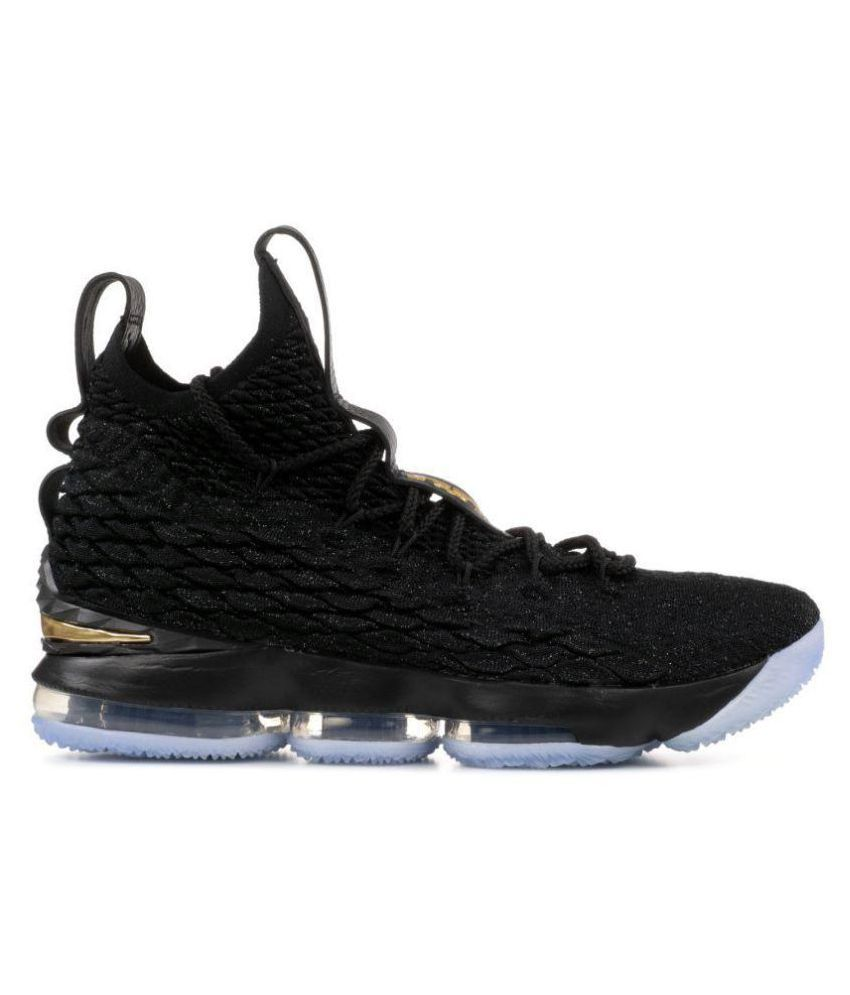 Nike LEBRON 15 DDS Black Basketball Shoes - Buy Nike LEBRON 15 DDS Black  Basketball Shoes Online at Best Prices in India on Snapdeal 1433801b2dcb