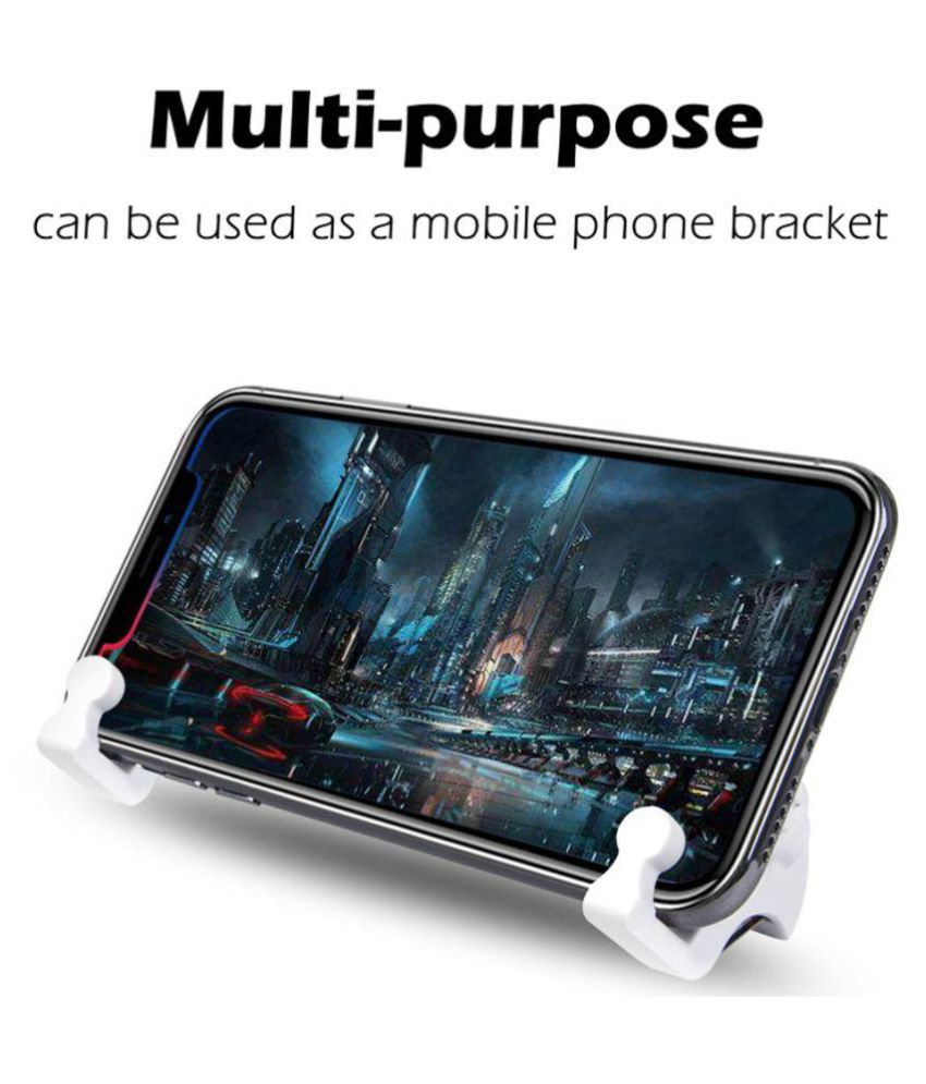 1 Pair Of Random Color L1 R1 Pubg Mobile Trigger Controller L1r1 Stick Pad Shoot Fire Button Smartphone