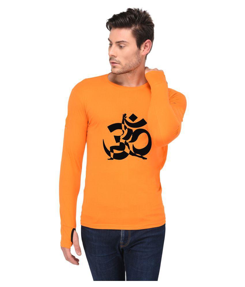 Trends Tower Orange Round T-Shirt