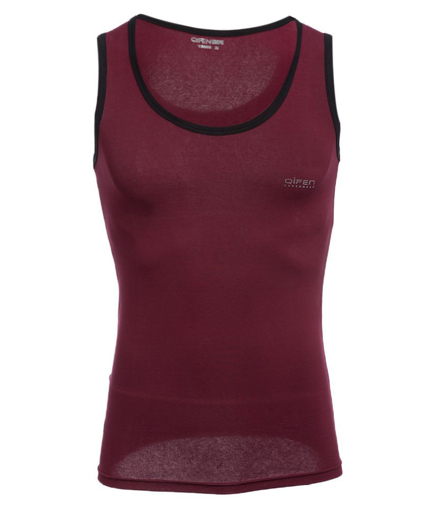 Whitleys Maroon Polyester T-Shirt Single Pack