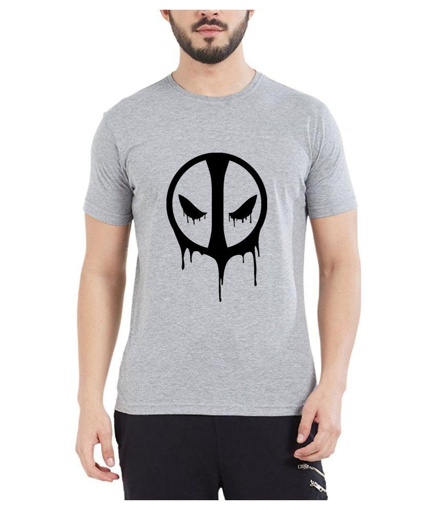 British Terminal Grey Round T-Shirt Pack of 1