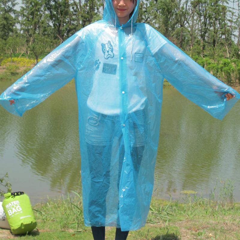 Ssd Waterproof Short Rainwear - Blue