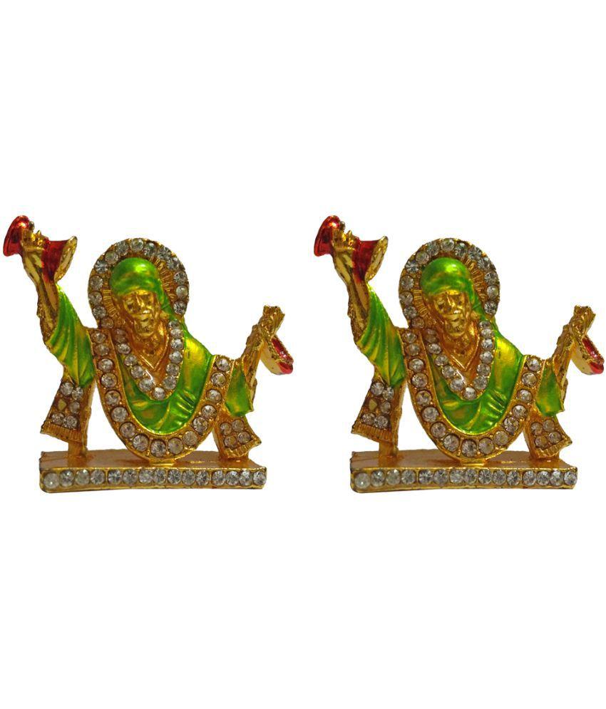 VINTAN Sai Baba Brass Idol
