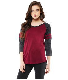 c1f2110e Maroon Tees & Polos: Buy Maroon Tees & Polos Online at Best Prices ...