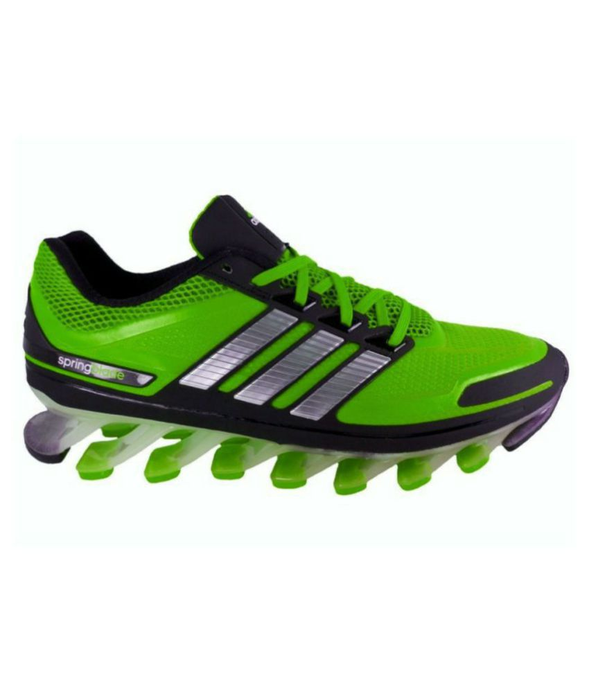 a6feb6de1c8 Adidas Spring blade Green Running Shoes - Buy Adidas Spring blade Green Running  Shoes Online at Best Prices in India on Snapdeal