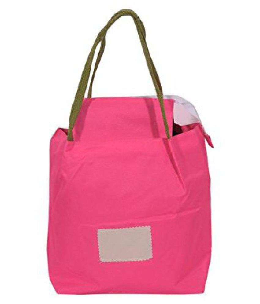 Peppy Basket Pink Lunch Bags - 1 Pc
