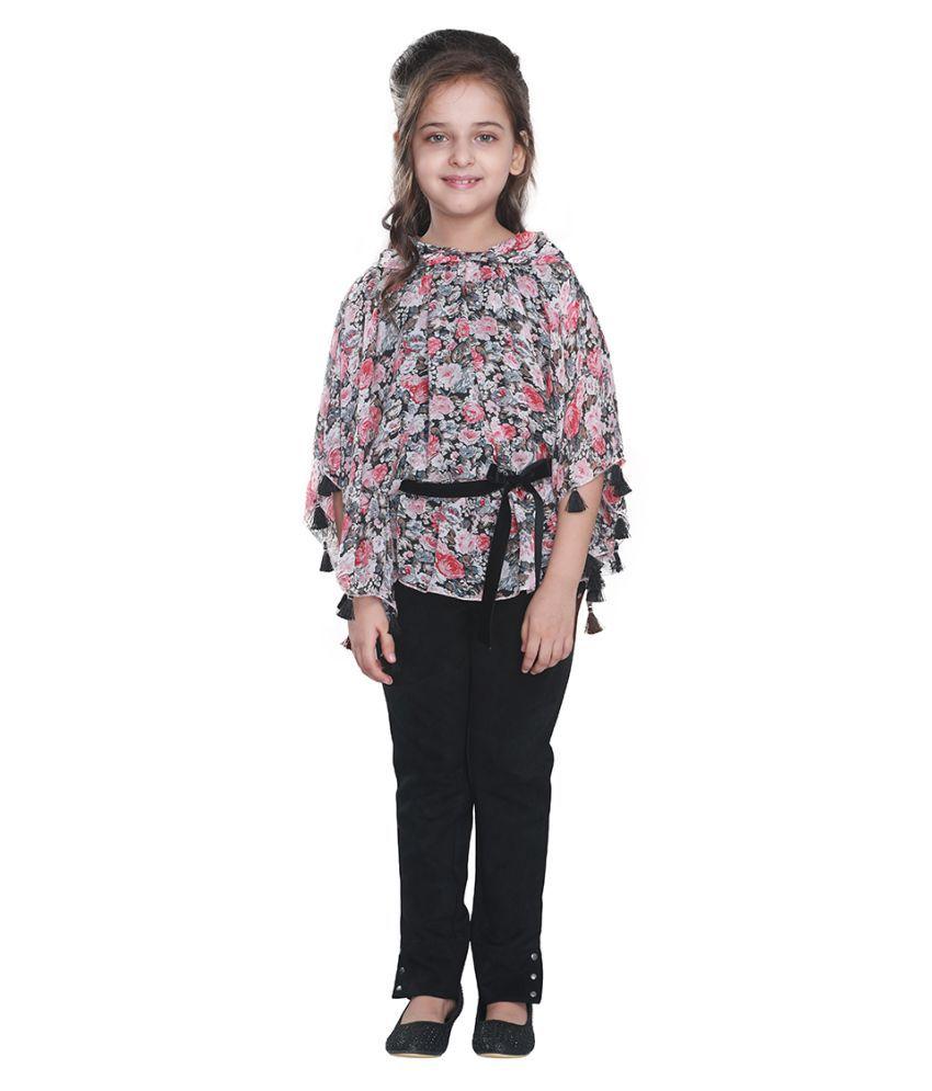 Cutecumber Girls Smart Casual Georgette Top - Buy ...