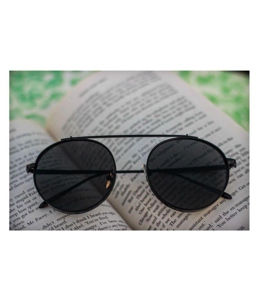 b07bb15af2 DIOR SUNGLASS Black Round Sunglasses ( D8064 ) - Buy DIOR SUNGLASS ...