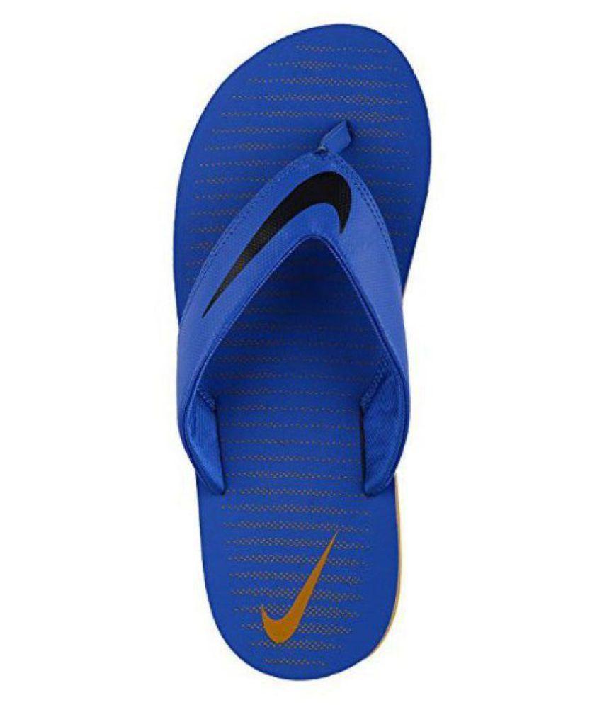 c58673af3de4 Nike Chroma Thong 5 Blue Thong Flip Flop Price in India- Buy Nike Chroma  Thong 5 Blue Thong Flip Flop Online at Snapdeal