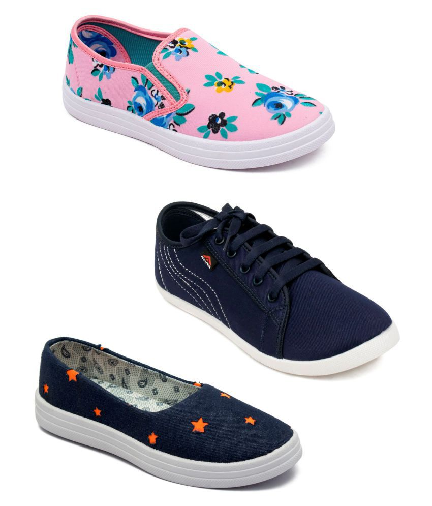 ASIAN Multi Color Casual Shoes Pack Of 3 Combos
