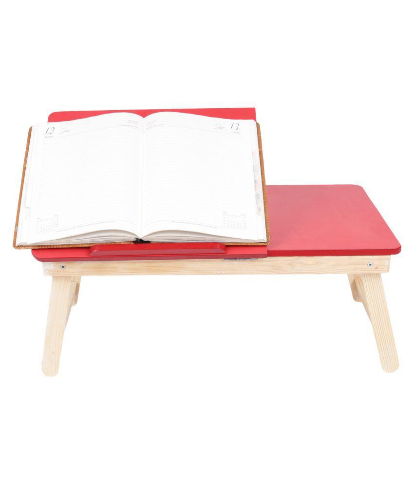 Vikram Furnisher & Decora Laptop Table For Upto 48.26 cm (19) Pink