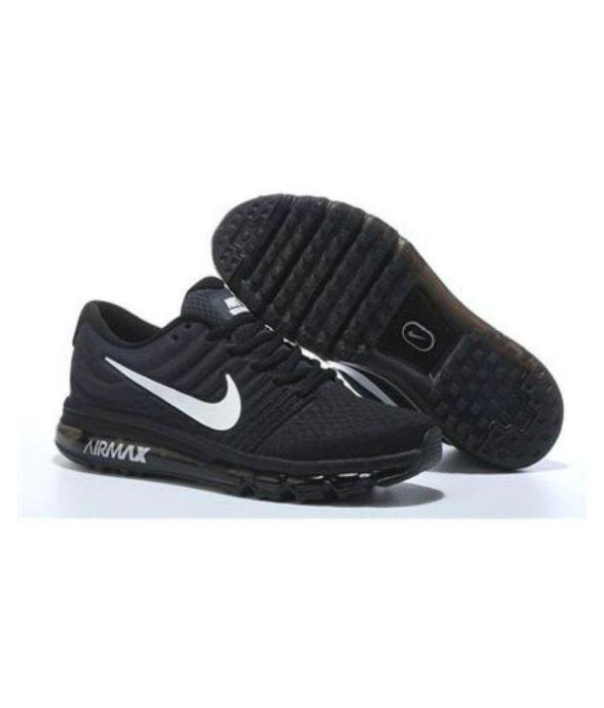 sale retailer c9353 cfd65 Nike Air Max 2018 Black Running Shoes - Buy Nike Air Max 2018 Black Running  Shoes Online at Best Prices in India on Snapdeal