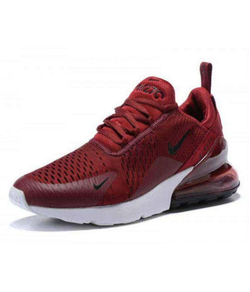 b3aca71b02474 Nike Air Max 270 Red Running Shoes - Buy Nike Air Max 270 Red ...