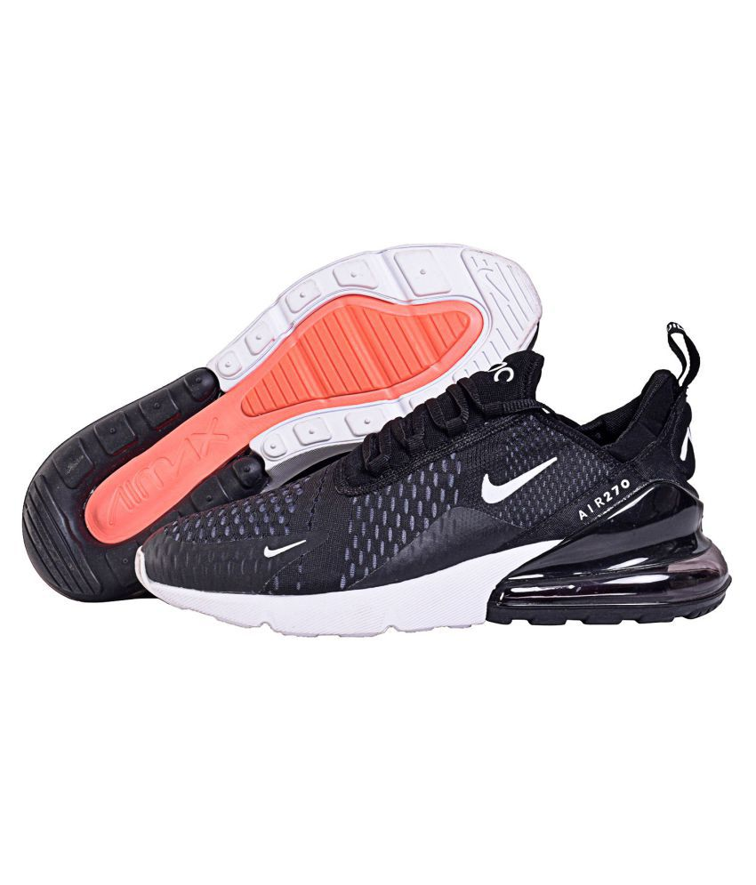 low priced 1ec5a 3c9cd Nike Black Running Shoes - Buy Nike Black Running Shoes Online at Best  Prices in India on Snapdeal