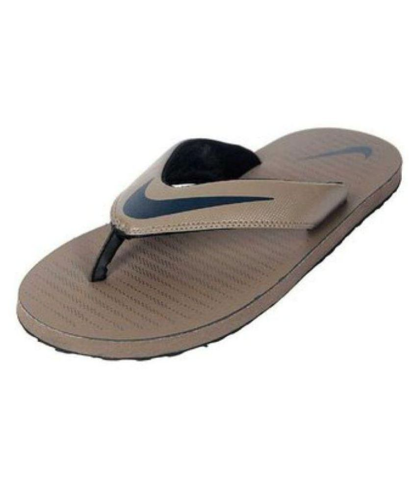 first rate 9f03f ae271 Nike Brown Daily Slippers