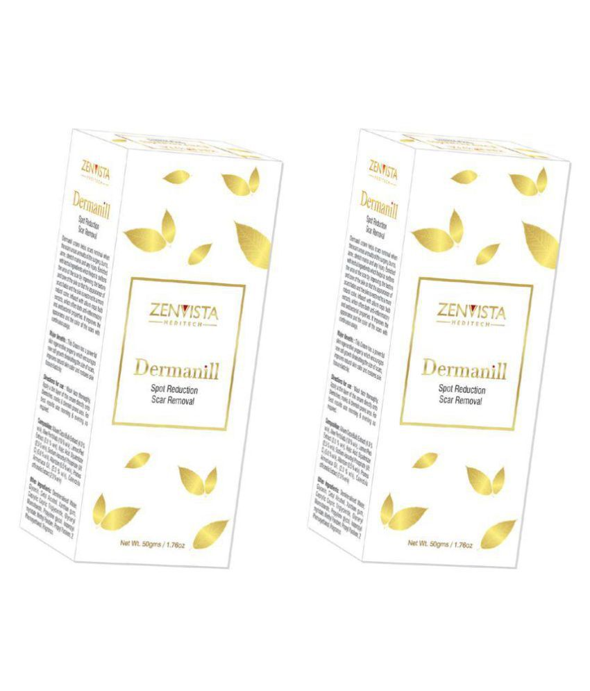 Zenvista Meditech Best Scar Removal & Spot Reduction Cream, Contains Vitamin C Removes dark scars Day Cream 100 gm
